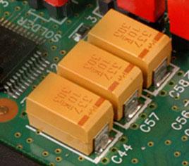 Танталовые конденсаторы в электронике