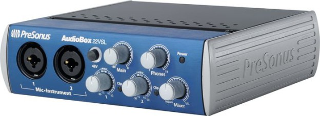 PreSonus Audiobox 22VSL USB 2.0