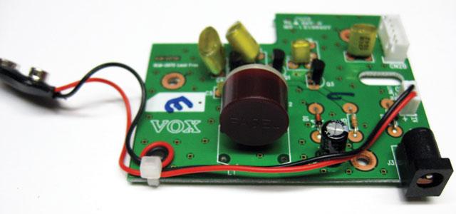 Модификация педали Vox V847 - замена индуктора