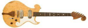 Bigsby Birdseye Maple Solid Body Electric Guitar