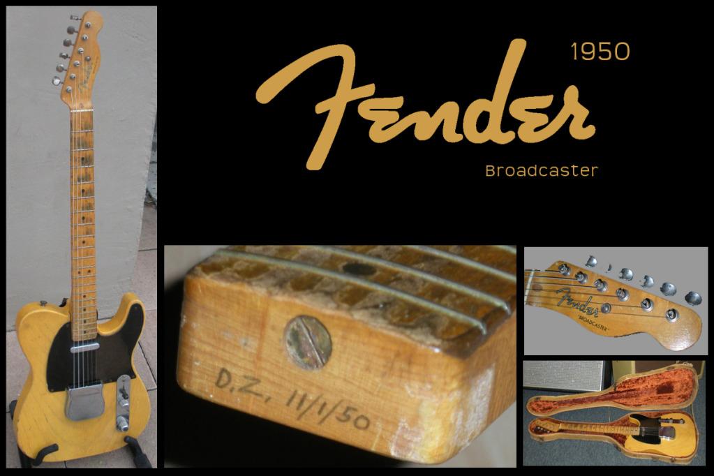 Fender Broadcaster, 1950